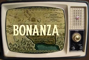 Vintage TV Set1 - Bonanza1